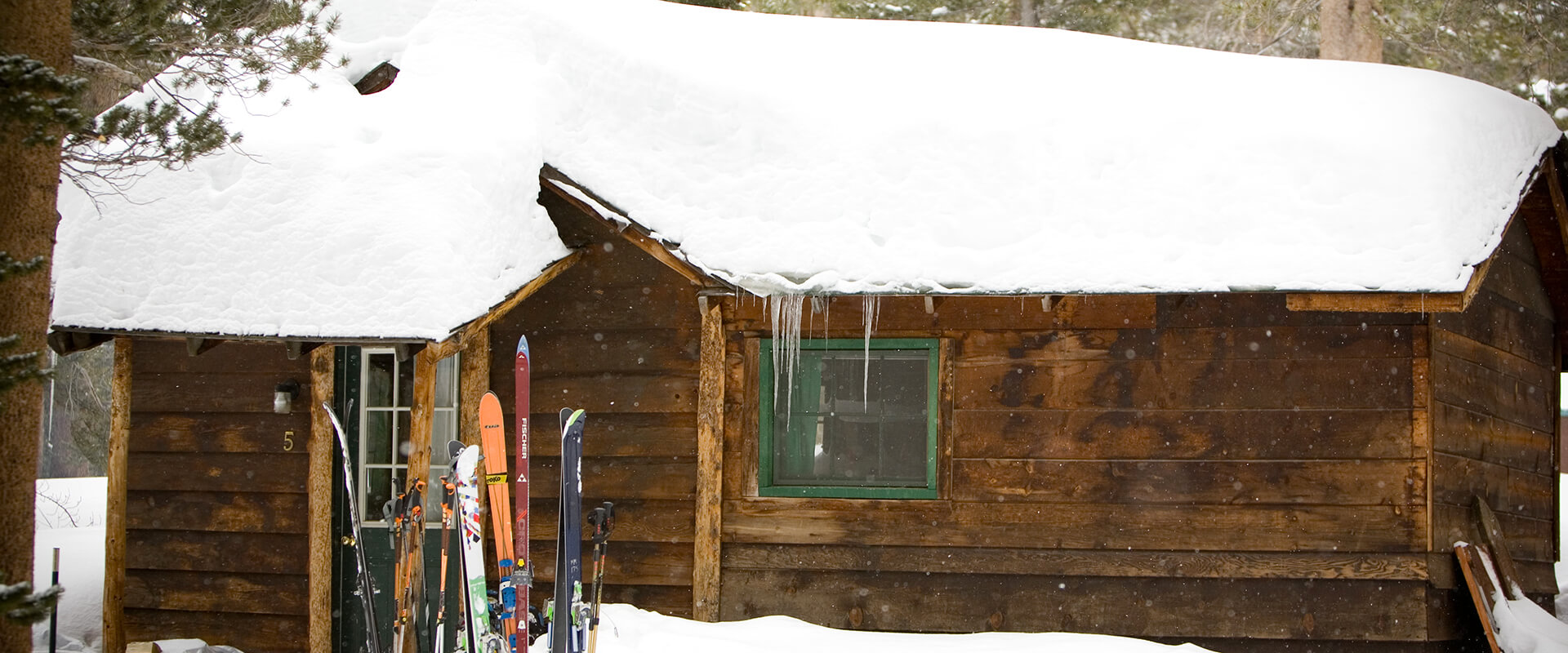 snowy rock creek cabin