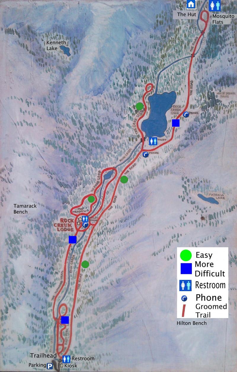 rock creek lake map Directions Maps Rock Creek Lodge rock creek lake map
